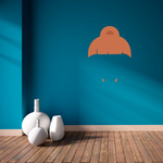 Characterface Wall Decal - Vinyl Decal - Car Decal - Id021