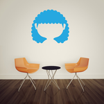 Characterface Wall Decal - Vinyl Decal - Car Decal - Id027