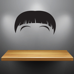 Characterface Wall Decal - Vinyl Decal - Car Decal - Id038
