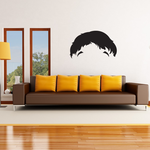 Characterface Wall Decal - Vinyl Decal - Car Decal - Id041