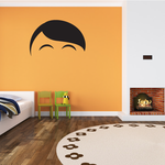 Characterface Wall Decal - Vinyl Decal - Car Decal - Id045
