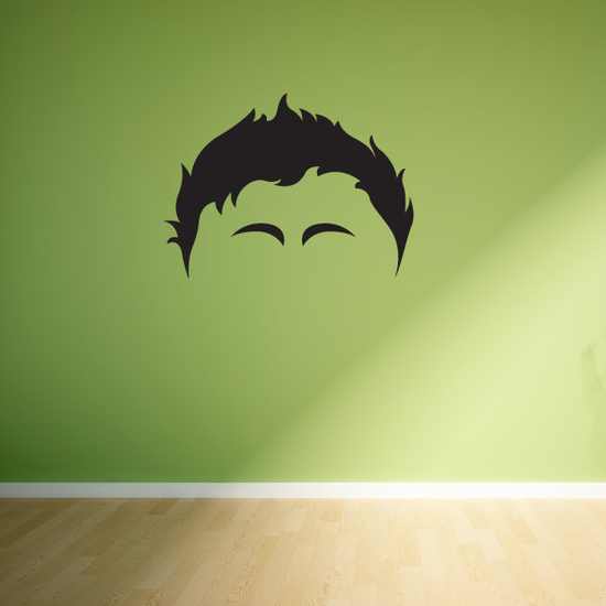 Characterface Wall Decal - Vinyl Decal - Car Decal - Id055