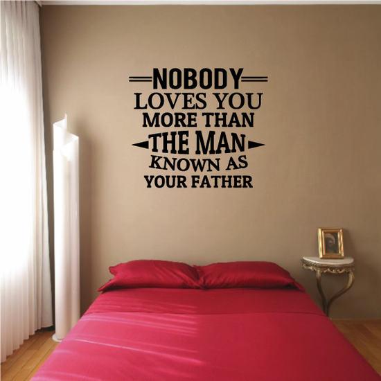 Father Loves You Decal