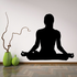 Yoga Meditation Decal