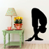 Yoga Standing Forward Bend Decal