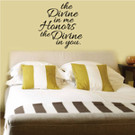The Divine in you Wall Decal