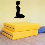 Yoga Wall Decal - Vinyl Decal - Car Decal - Vd005
