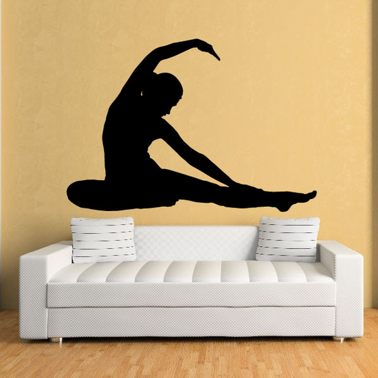 Yoga Wall Decal - Vinyl Decal - Car Decal - BA010