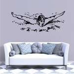 Butterfly Swimmer Decal