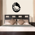 Abstract Snake Head Decal