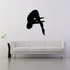 Female Swimmer Diving Decal