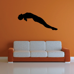 Scuba Diver Wall Decal - Vinyl Decal - Car Decal - 009