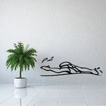 Swimming Wall Decal - Vinyl Decal - Car Decal - CDS001