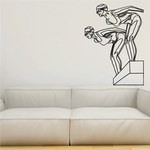 Diving Wall Decal - Vinyl Decal - Car Decal - Bl003