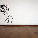 Swimming Wall Decal - Vinyl Decal - Car Decal - Bl009