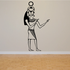 Egyptian Wall Decal - Vinyl Decal - Car Decal - MC77