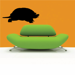 Snapping Turtle Walking Decal