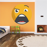 Emoticon Wall Decal - Vinyl Decal - Car Decal - Idcolor050