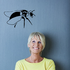 Hovering Bee Decal