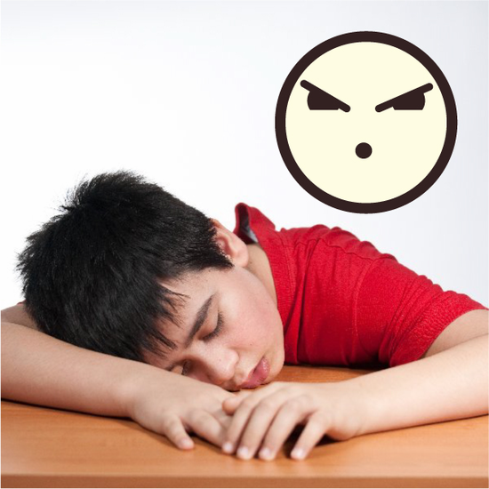 Emoticon Sour Face  Wall Decal - Vinyl Decal - Car Decal - Idcolor077