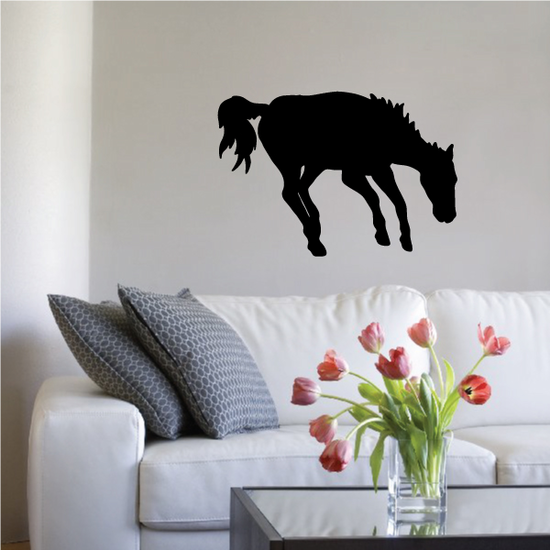 Roaming Wild Horse Decal