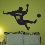 Custom Soccer Player Decal