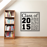 Scripture Class Of Decal