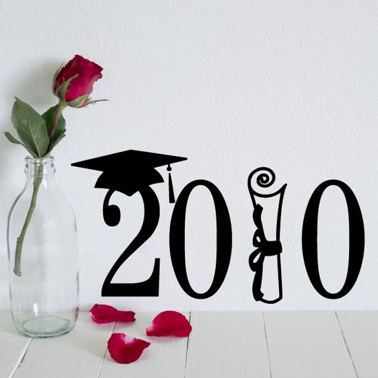 Class of Any Year Diploma Decal