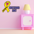Cost Guard Aunt Ribbon Printed Die Cut Decal