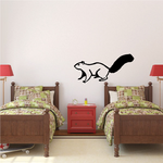 Squirrel Watching Decal