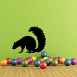 Sniffing Squirrel Decal