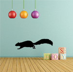 Running Squirrel Decal