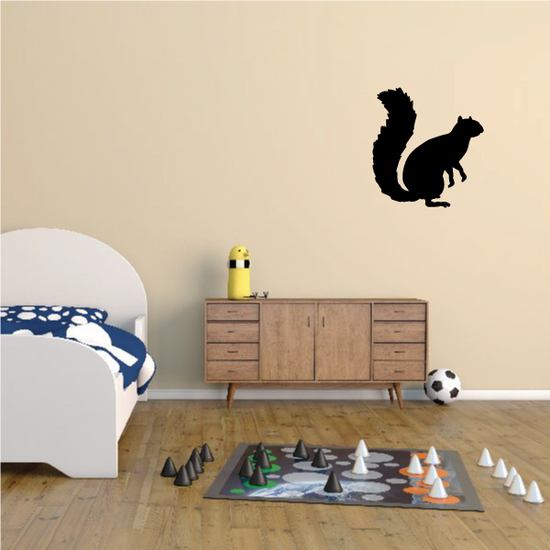 Standing Squirrel Decal