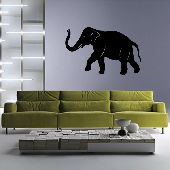 Lively Walking Elephant Decal