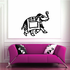 Indian Elephant Decal