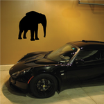 Standing Elephant Decal