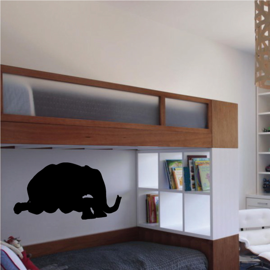 Resting Elephant Decal