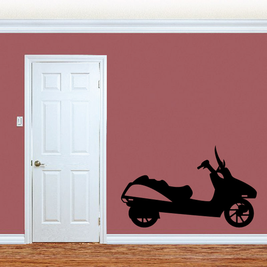 Basic Scooter Decal