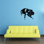 Harvesting Bumble Bee Decal