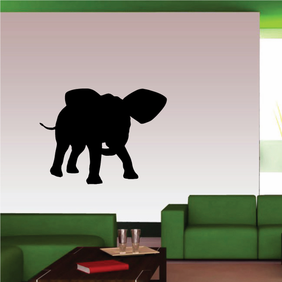 Defensive Stance Elephant Decal