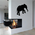 Climbing Elephant Decal
