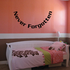 Never Forgotten In Loving Memory Wall Decal - Vinyl Decal - Car Decal - DC049