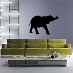 Trumpeting Elephant Decal