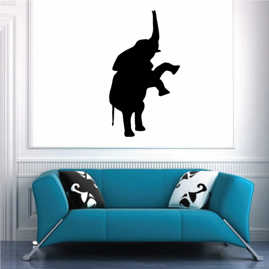 Standing Straight Elephant Decal