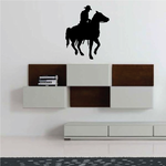 Roaming Cowboy Riding on Horse Decal