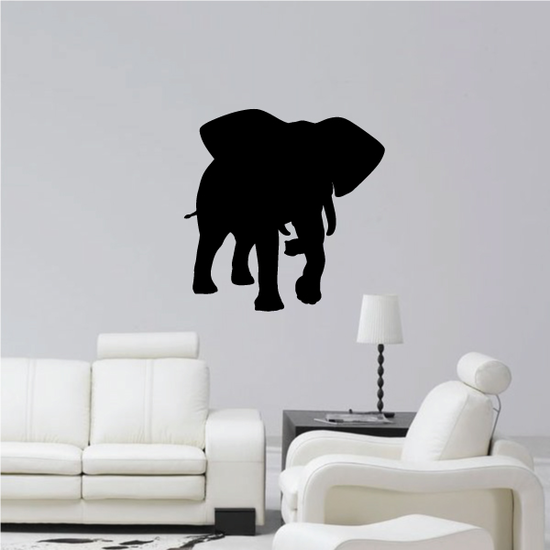 Approaching Elephant Decal