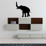 Rising Trunk Elephant Decal