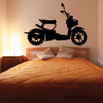 Little Scooter Decal
