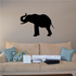 Curled Back Trunk Elephant Decal