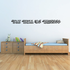 You Will be Missed In Loving Memory Wall Decal - Vinyl Decal - Car Decal - DC006